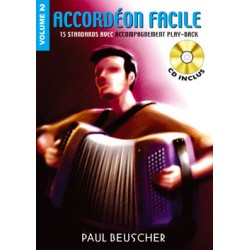 ACCORDEON FACILE VOLUME 2 BEUSCHER