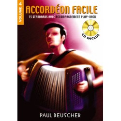 ACCORDEON FACILE VOLUME 4 BEUSCHER PB1205