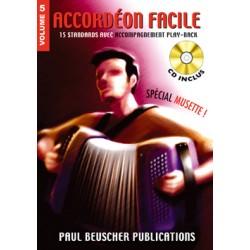 ACCORDEON FACILE VOLUME 5 BEUSCHER PB1206