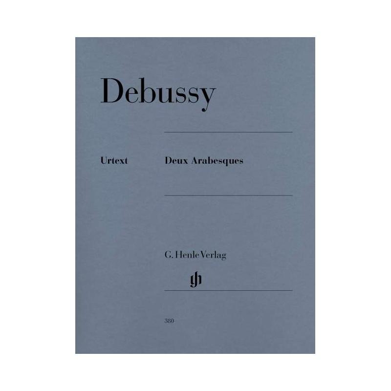 PARTITION PIANO DEBUSSY ARABESQUES HN380 LE KIOSQUE A MUSIQUE