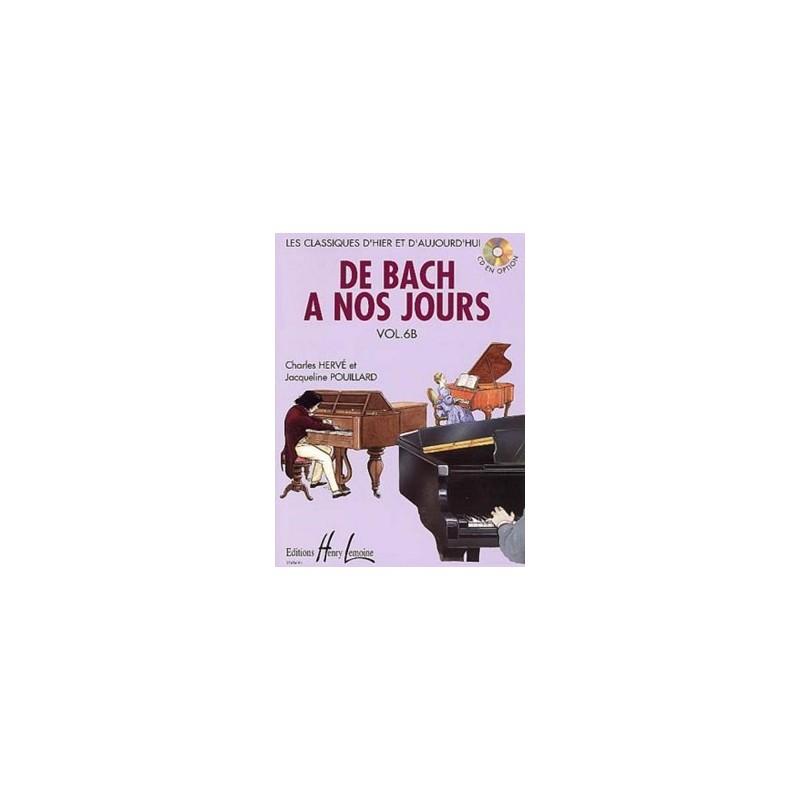Partition piano De Bach à nos jours 6B le kiosque à musique Avignon