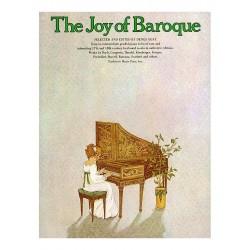PARTITION PIANO THE JOY OF BAROQUE AVIGNON  YK21012