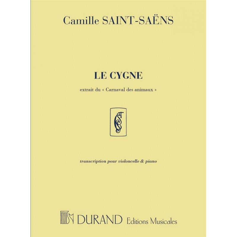 Partition violoncelle Le Cygne - Kiosque musique Avignon