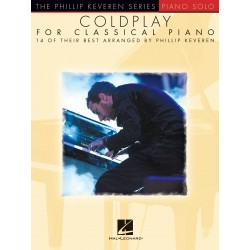 PARTITION COLDPLAY FOR CLASSICAL PIANO HL00137779 LE KIOSQUE A MUSIQUE