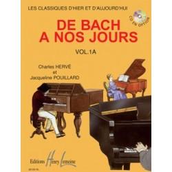 PARTITION PIANODE BACH A NOS JOURS 1A HL26126 LE KIOSQUE A MUSIQUE