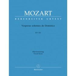 MOZART VESPERAE SOLENNES DE DOMINICA BA4893A