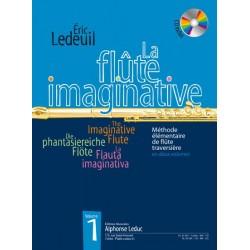 ERIC LEDEUIL LA FLUTE IMAGINATIVE VOLUME 1 AL30365