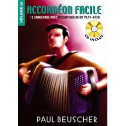 ACCORDEON FACILE VOLUME 3 PAUL BEUSCHER PB1156