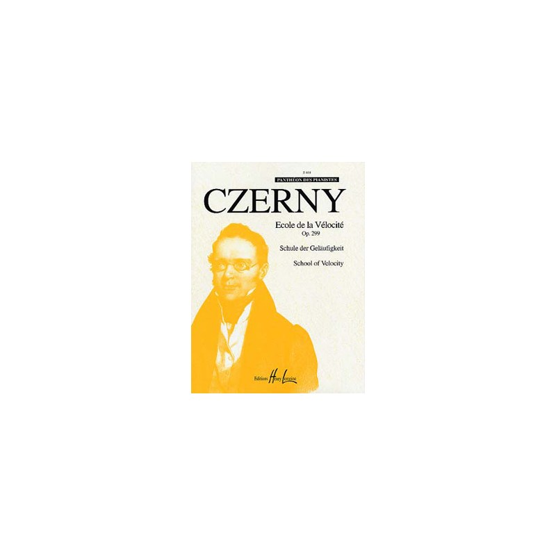 CZERNY ECOLE DE LA VELOCITE OPUS 299 HLP618