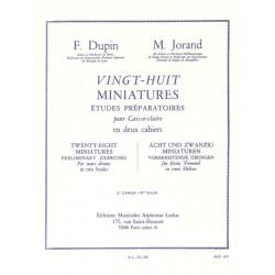 DUPIN JORAND 28 MINIATURES CAISSE CLAIRE AL25136
