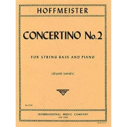 HOFFMEISTER CONCERTINO N°2 CONTREBASSE ET PIANO IMC2579