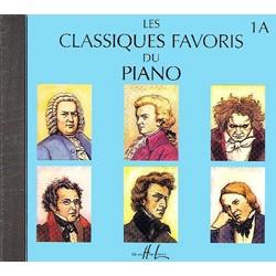 LES CLASSIQUES FAVORIS DU PIANO 1A  LE CD HLP1031D LE KIOSQUE  A MUSIQUE