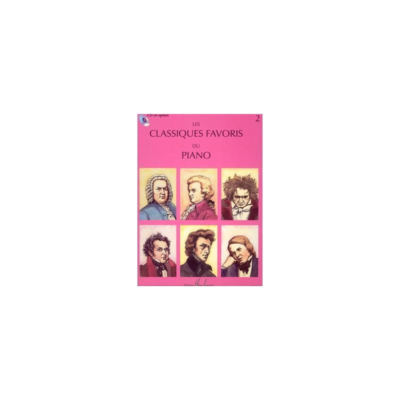 LES CLASSIQUES FAVORIS DU PIANO VOLUME 2 HLP1014
