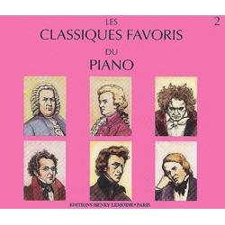 CLASSIQUES FAVORIS DU PIANO 2 LE CD