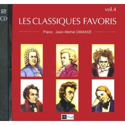 LES CLASSIQUES FAVORIS DU PIANO 4 LE CD