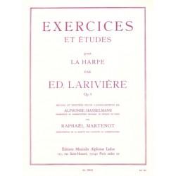 LARIVIERE EXERCICES ET ETUDES POUR HARPE AL20032