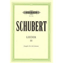 SCHUBERT LIEDER VOLUME 3 VOIX GRAVE EP790C