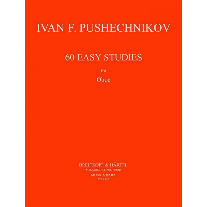 PUSCHECHNIKOV 50 EASY STUDIES MR1972