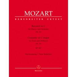 MOZART CONCERTO PIANO N°21 BARENREITER BA5317A