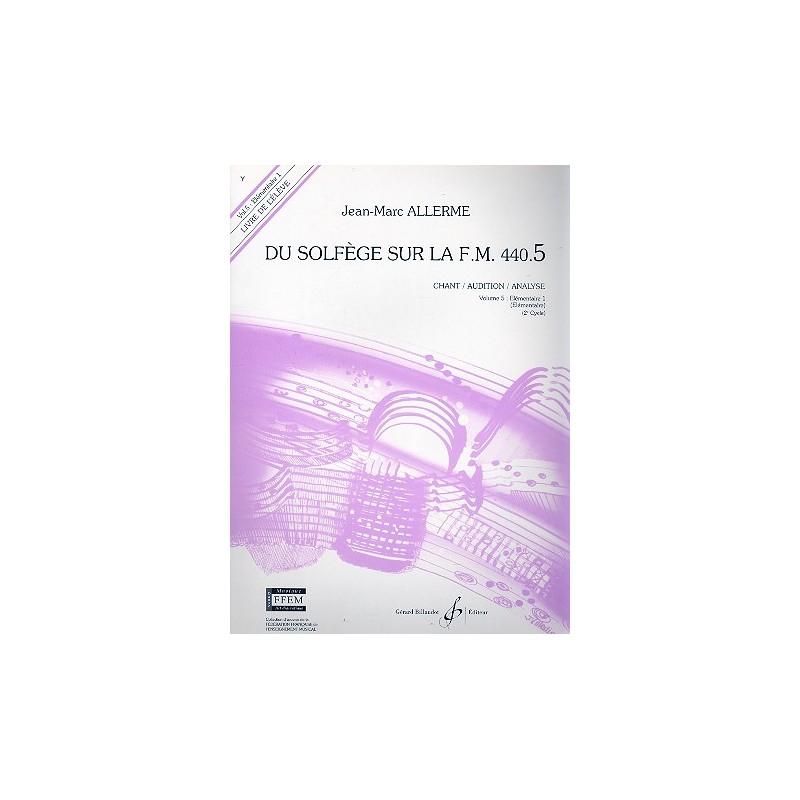 ALLERME DU SOLFEGE SUR LA FM 440.5 CHANT GB5341