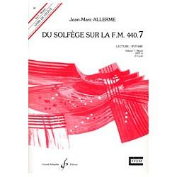 ALLERME DU SOLFEGE SUR LA FM 440.7 LECTURE RYTHME GB6752
