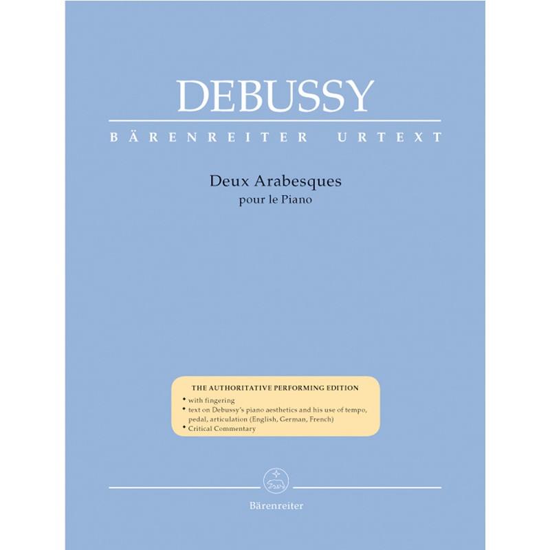 Partition piano Debussy Arabesques  BA8768 Le kiosque à musique Avignon
