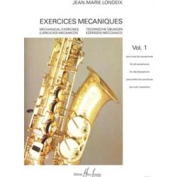 JEAN MARIE LONDEIX EXERCICES MECANOQUES HL23926