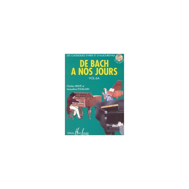 PARTITION PIANO DE BACH A NOS JOURS 6A AVIGNON LE KIOSQUE A MUSIQUE