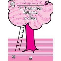 SICILIANO LA FORMATION MUSICALE EN 2e CYCLE VOLUME 5 HC19