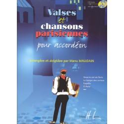 MANU MAUGAIN VALSES ET CHANSONS PARISIENNES HL27684
