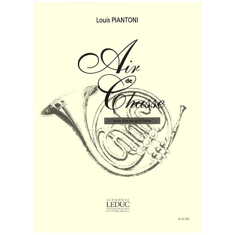 LOUIS PIANTONI AIR DE CHASSE POUR COR AL21393
