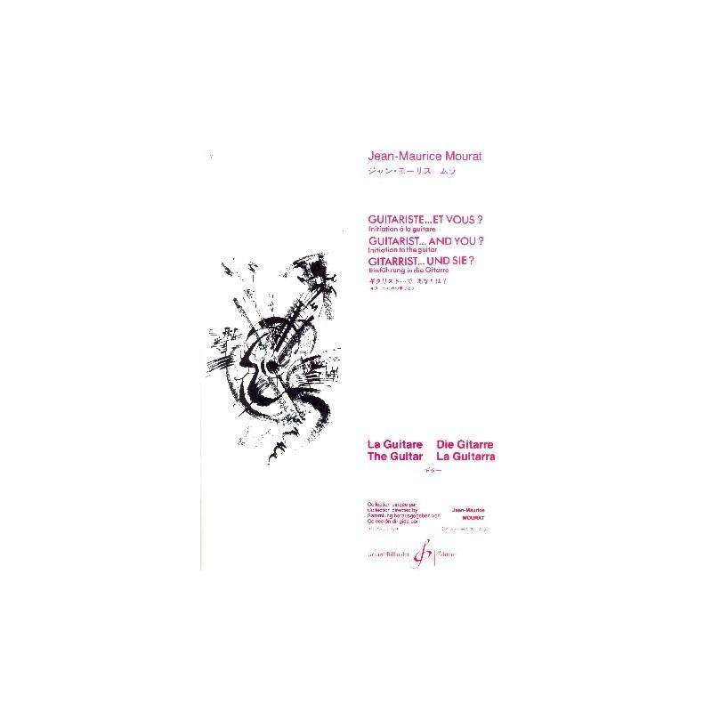 JEAN-MAURICE MOURAT GUITARISTE ET VOUS GB3234 BILL3234