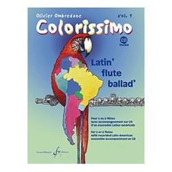 COLORISSIMO VOLUME 1 FLUTE BILLAUDOT GB7784