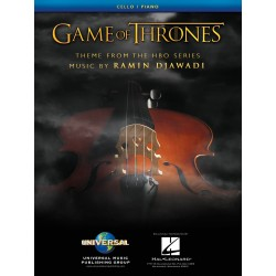 GAME OF THRONES PARTITIONS VIOLONCELLE HL00253392