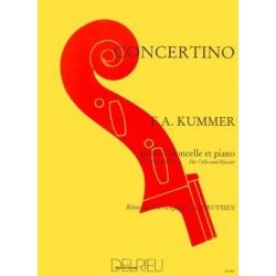 KUMMER CONCERTINO VIOLONCELLE DO MAJEUR DELRIEU GD986