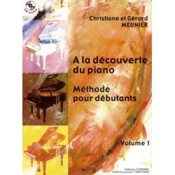 A LA DECOUVERTE DU PIANO VOL1