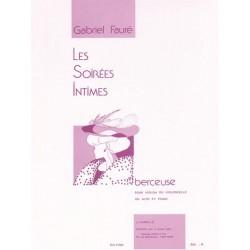 Partition Gabriel Fauré Berceuse Violon Violoncelle HA9060 Kiosque musique Avignon