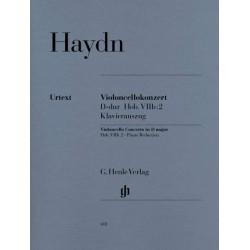 Partition violoncelle Haydn Concerto Ré Majeur HN418 Le kiosque à musique Avignon