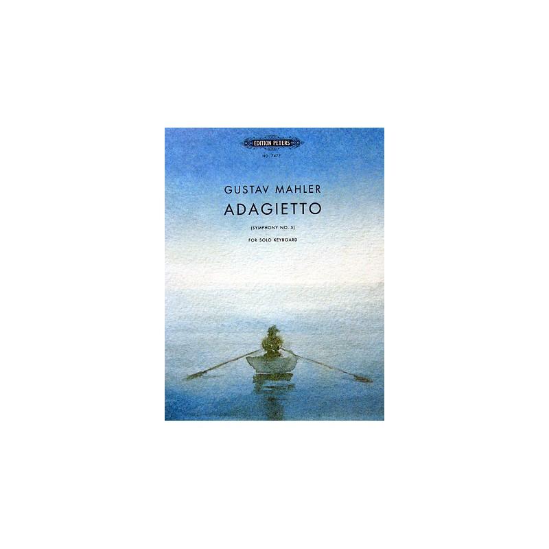 MAHLER ADAGIETTO SYMPHONIE N°5 PIANO EP7477