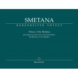 SMETANA DIE MOLDAU PIANO 4 MAINS BA9549