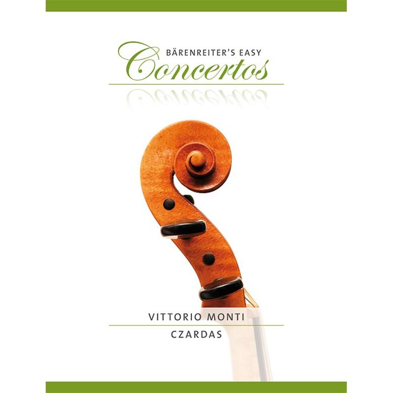 Partition violon Czardas de Monti - Kiosque musique Avignon