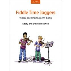 FIDDLE TIME JOGGERS ACCOMPAGNEMENT VIOLON 9780193398610