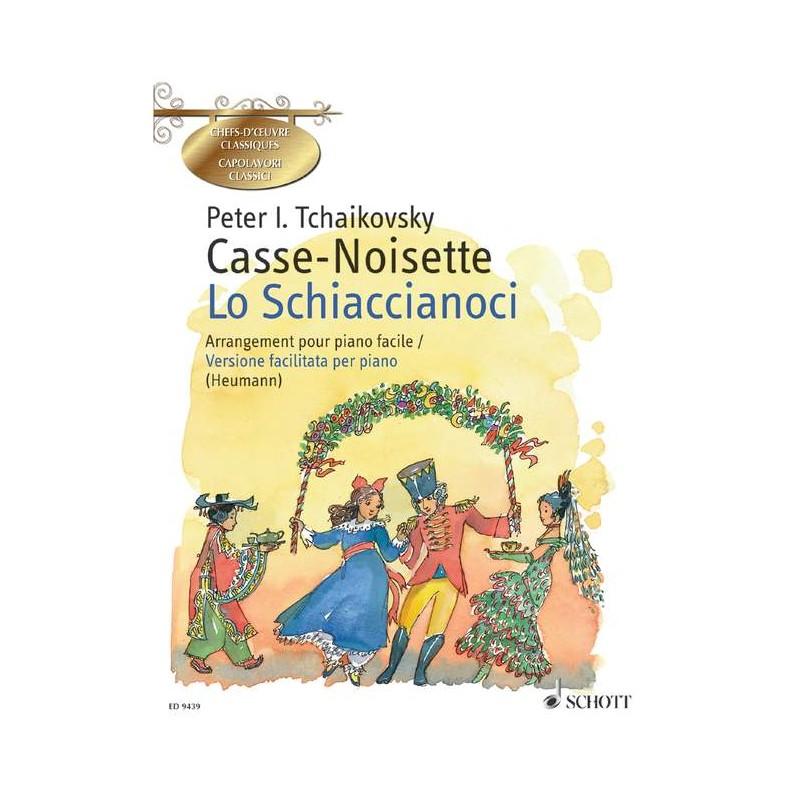 CASSE NOISETTE PIANO FACILE ED9439