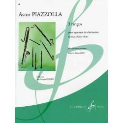 PIAZZOLLA 3 TANGOS 4 CLARINETTES G7787B BILL7787