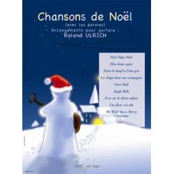 ROLAND ULRICH CHANSONS DE NOEL GUITARE HL28305