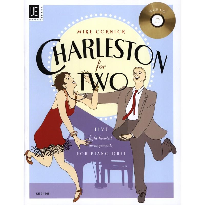 CHARLESTON FOR TWO PIANO 4 MAINS UE21368