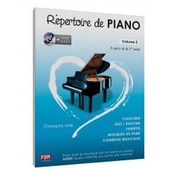 REPERTOIRE DE PIANO VOLUME 2 AVIGNON