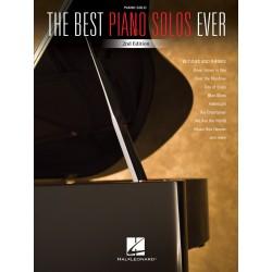 PARTITION THE BEST PIANO SOLOS EVER HL00242928 AVIGNON