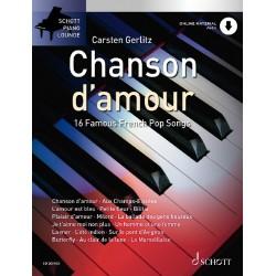 PARTITION GERLITZ CHANSON D'AMOUR AVIGNON ED20540