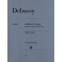 PARTITION PIANO DEBUSSY CHILDREN'S CORNER HN382 AVIGNON